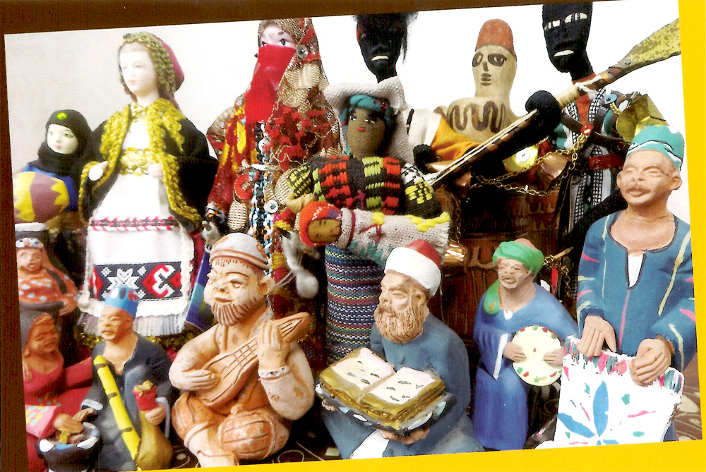 【終了】民族衣装の人形たち</br>~彼方から来た物語とともに~</br>2015.10.6(tue) &#8211; 10.18(sun)