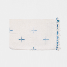 Handspun place mat (blue)_E
