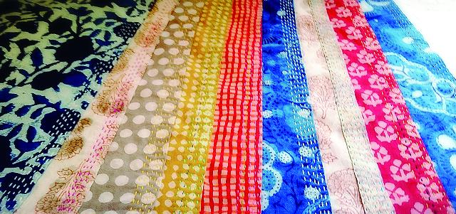 インドの布のバンダナ展 <br>2017年6月6日(火) 〜6月18(日)