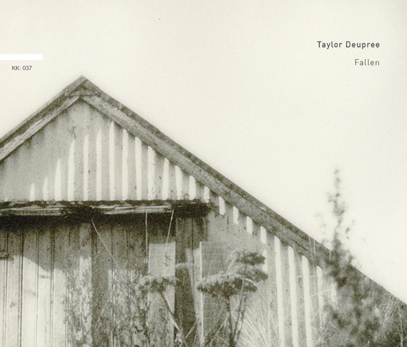 Taylor Deupree「Fallen」CD発売</br>2018年2月17日(土)