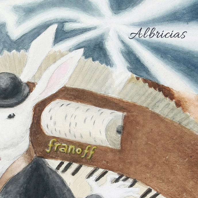 Alejandro Franov「Albricias」ソロピアノ最新作発売!</br>2018年3月30日(金)