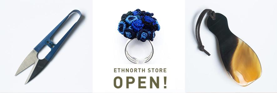 ETHNORTH STORE<br>〜オンラインストアがリニューアルオープン〜<br>2021年2月10日(水)