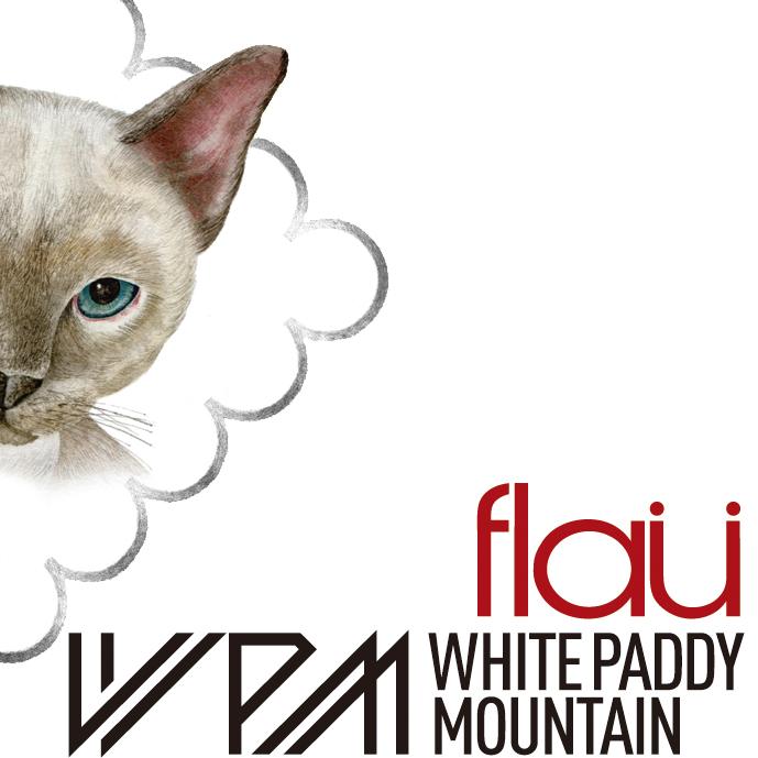 【終了】「ネイチャーブリスの音楽試聴室 vol.2」flau & White Paddy Mountain</br>2015.8.25(tue) – 9.6(sun)