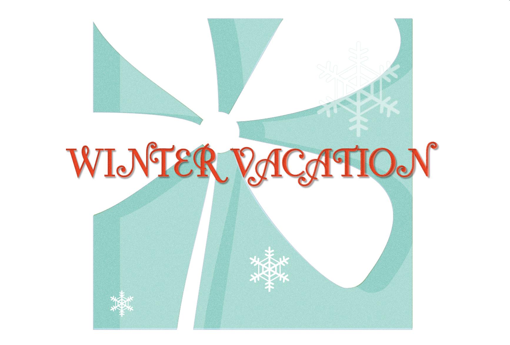 冬期休業のお知らせ:12月28(月)- 1月3日(日)